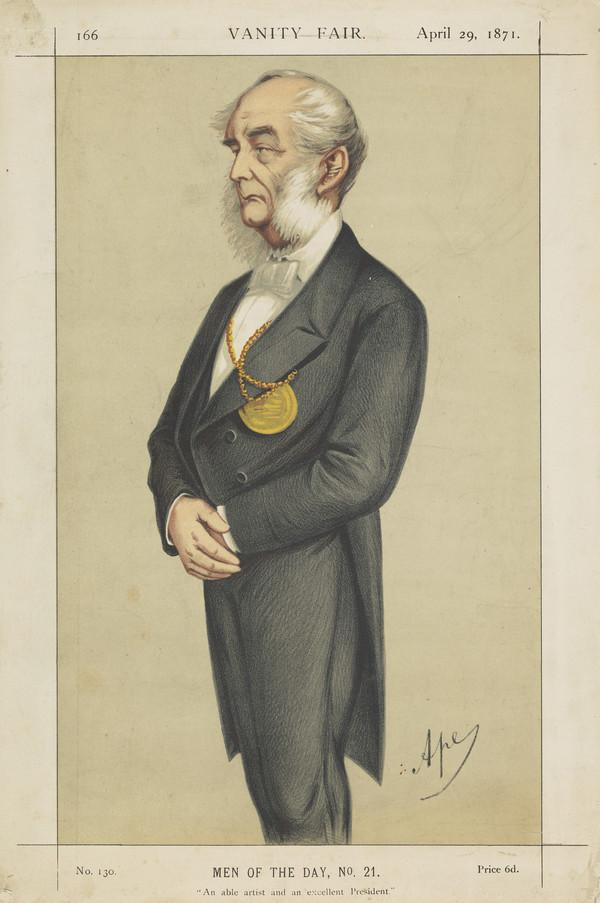 Sir Francis Grant, 1803 - 1878. Artist (Published 1871)