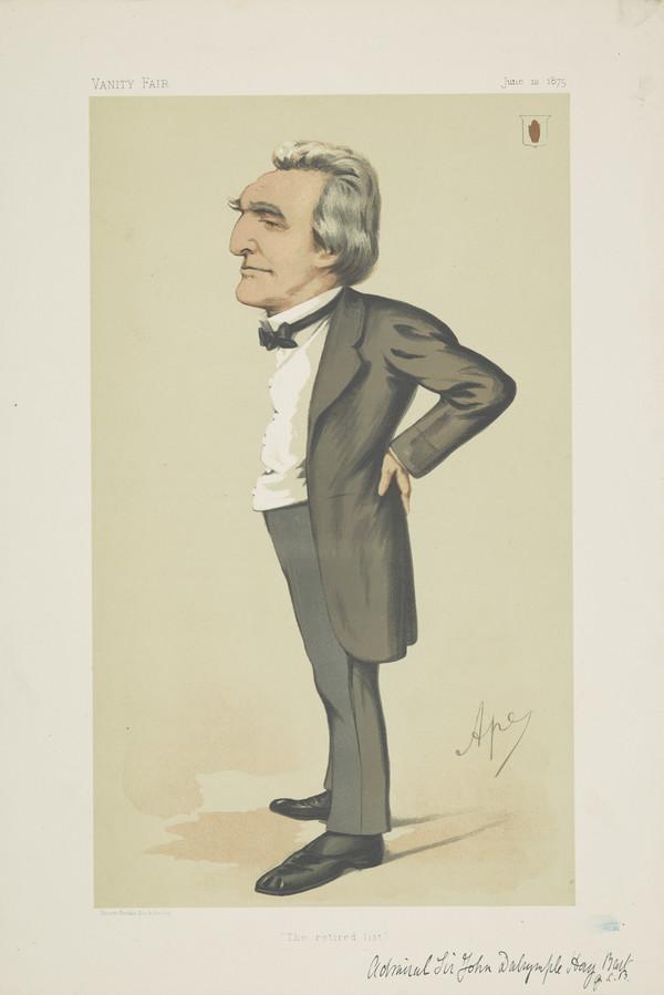 Sir John Charles Dalrymple Hay, b. 1821. Admiral (Published 1875)