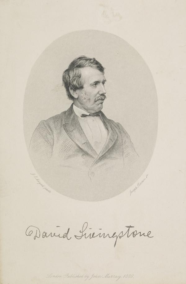 David Livingstone, 1813 - 1873. Missionary and explorer