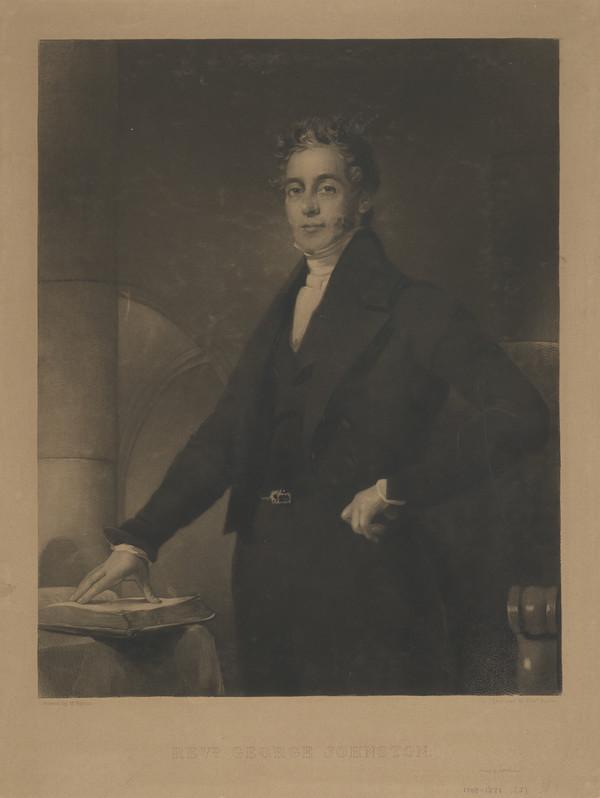 Rev. George Johnston, 1798 - 1871