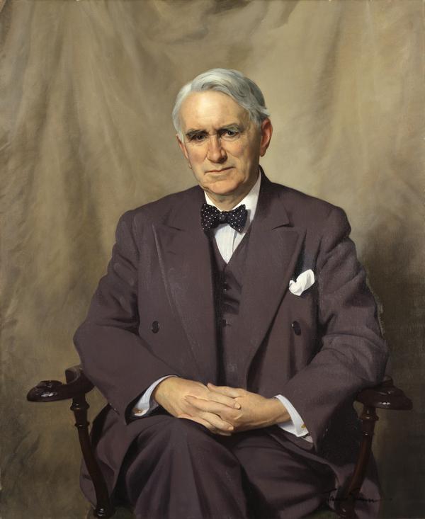 Thomas Johnston, 1881 - 1965. Statesman (About 1955)