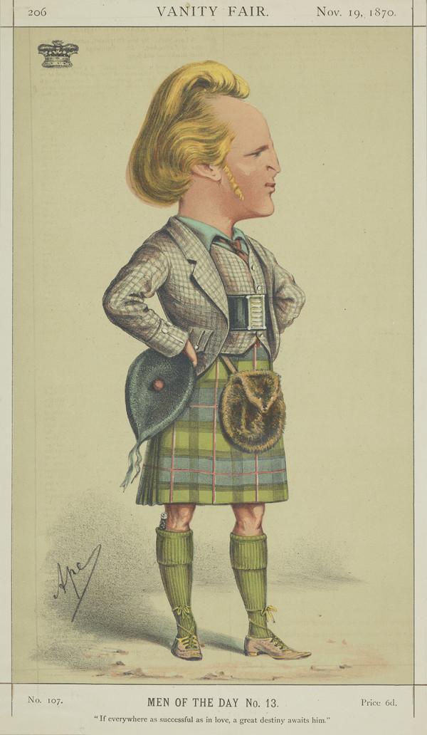 John Campbell, 9th Duke of Argyll, 1845 - 1914 (Published 1870)