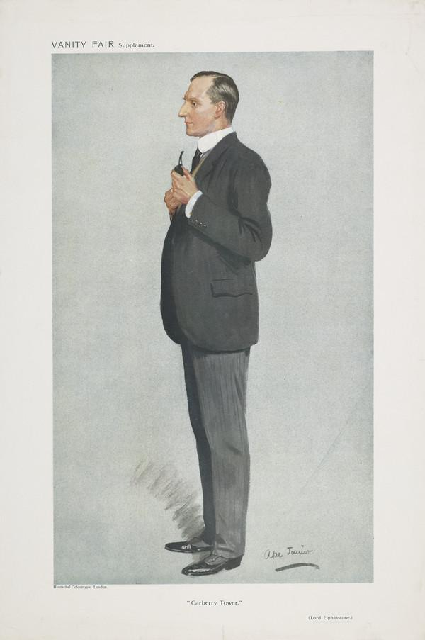 Sidney Herbert Elphinstone, Lord Elphinstone, 1869 - 1955. Governor of the Bank of England