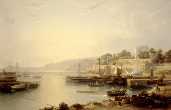 A View of Burntisland (About 1823)