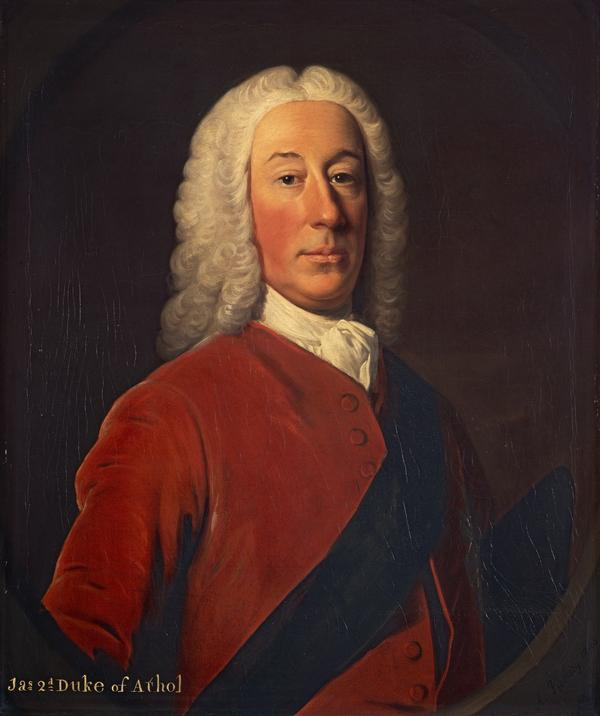 James Murray, 2nd Duke of Atholl, 1690 - 1764. Lord Privy Seal (1743)