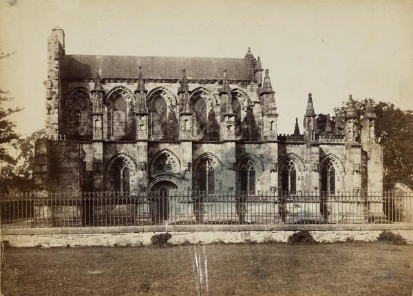 Roslin [Rosslyn] Chapel, South Front