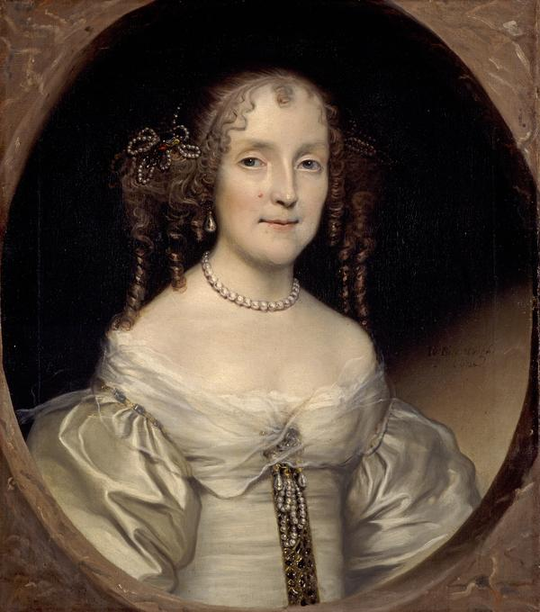 Susanna Hamilton, Countess of Cassillis, 1632 - 1694. First wife of the 7th Earl of Cassilis (1662)