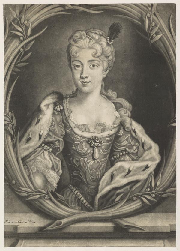 Princess Maria Clementina Sobieska, 1702 - 1735. Wife of Prince James Francis Edward Stuart