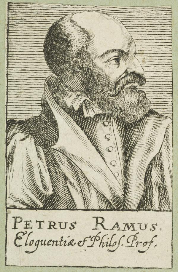 Petrus Ramas (or Pierre de Ramee), 1515 - 1572. French humanist
