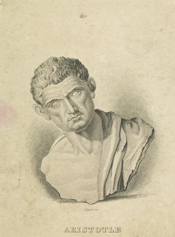 Aristotle, 384 - 322 BC. Greek philosopher