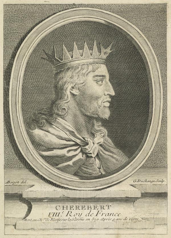 Cherebert, d. 570. King of France