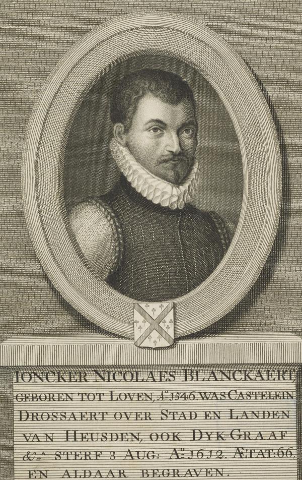 Joncker Nicolaes Blanckaert, 1546 - 1612