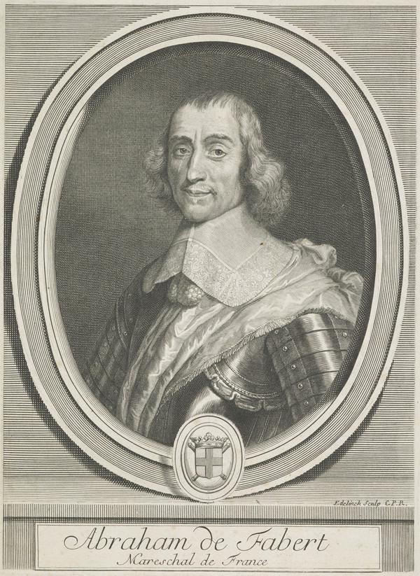 Abraham Fabert, 1599 - 1662. Marechal de France