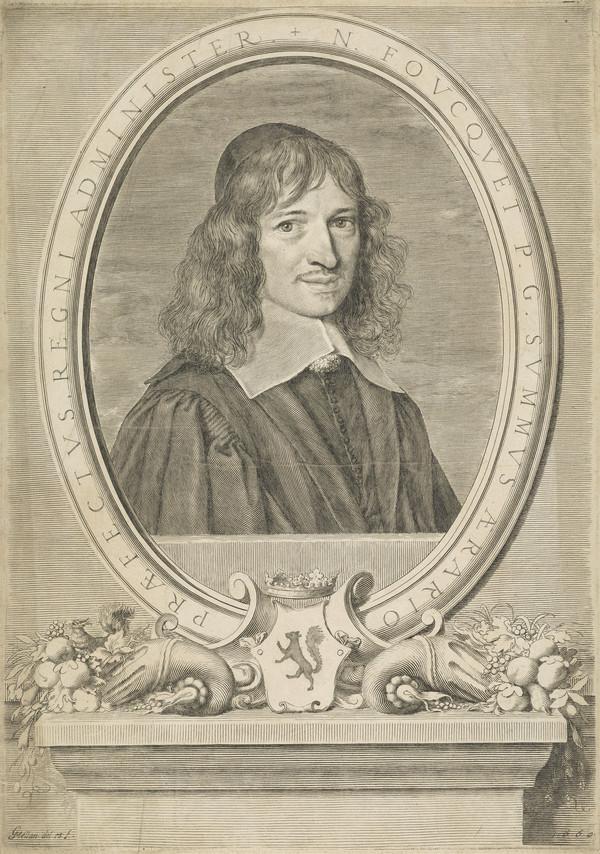 Nicolas Fouquet, Viscount de Melun et de Vaux, 1615 - 1680. French finance minister