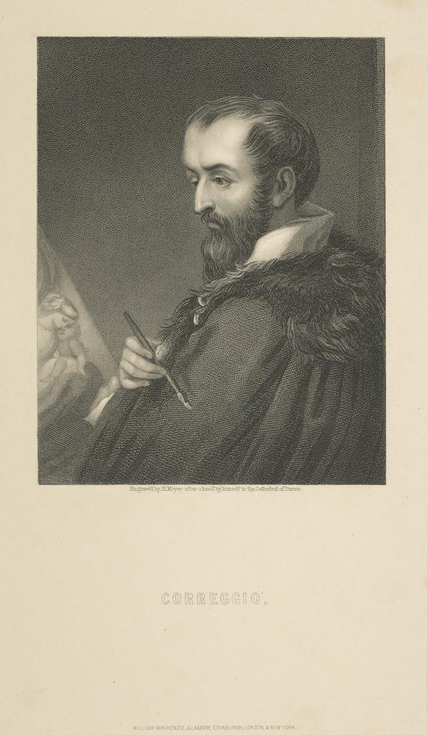 Antonio Allegri (Corregio), about 1489 - 1534. Painter