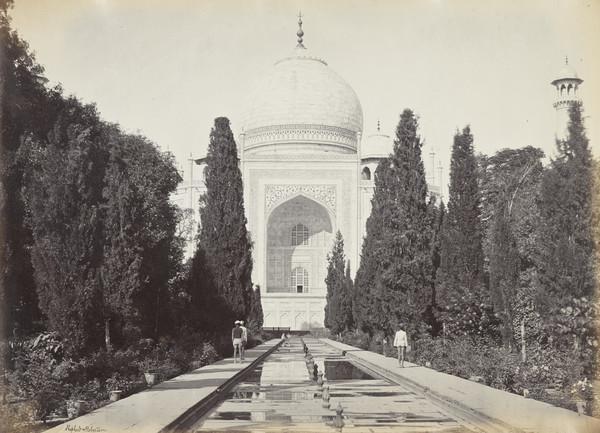 The Taj, from Fountains