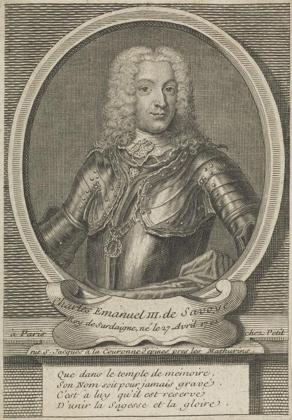 Charles Emmanuel III of Savoy, 1701 - 1773  King of Sardinia