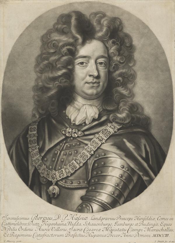 George, Landgrave of Hesse, 1669 - 1705