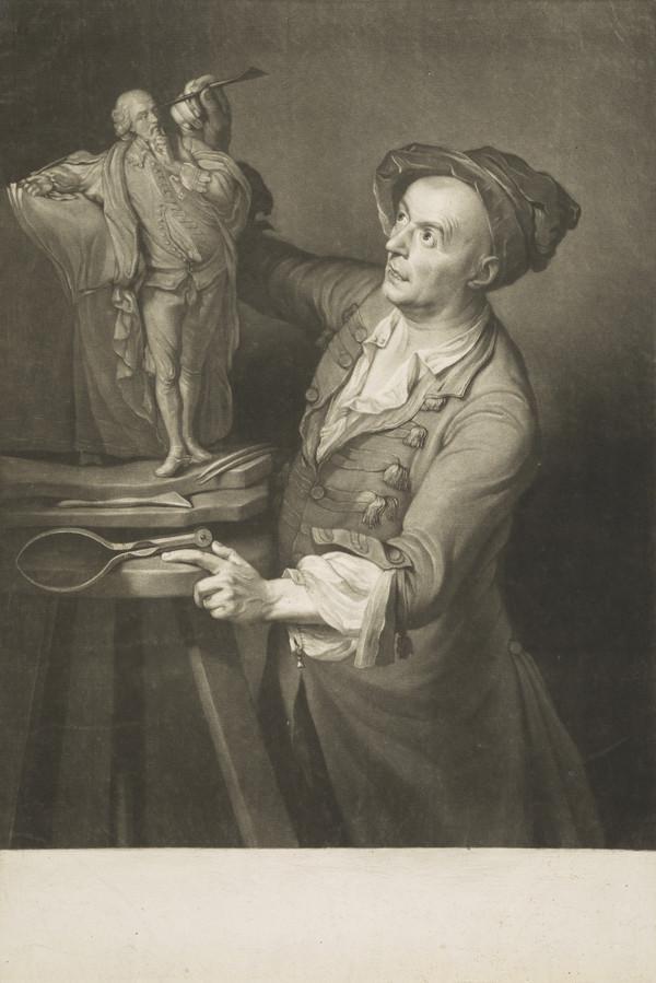 Louis Francois Roubiliac, 1695 - 1762. French sculptor