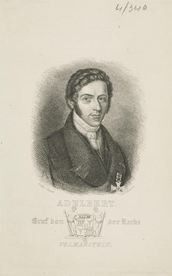 Count Adalbert von der Recke von Volmerstein, 1791 - 1878
