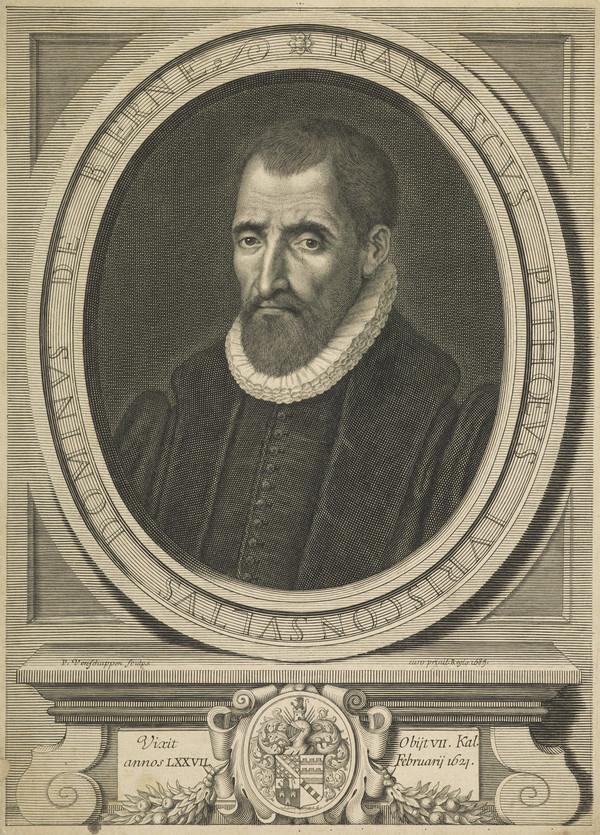 Francois Pithou, 1543 - 1621. French jurist; brother of Pierre Pithou