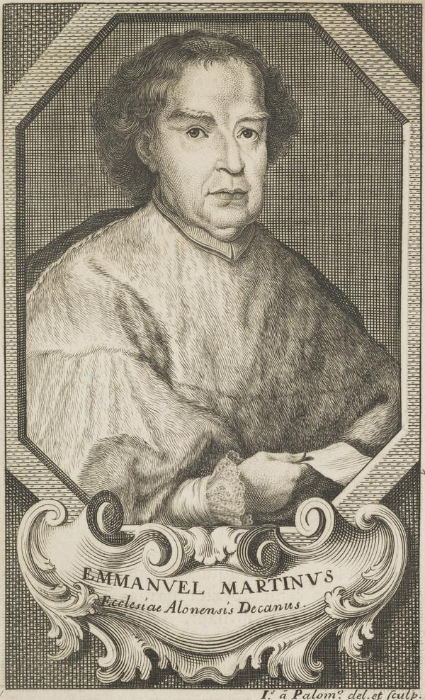 Emmanuel Martinus, active 1738. Author