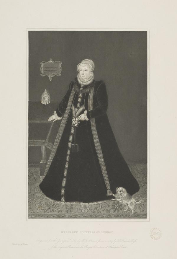 Margaret Douglas, Countess of Lennox, 1515 - 1578. Mother of Lord Darnley