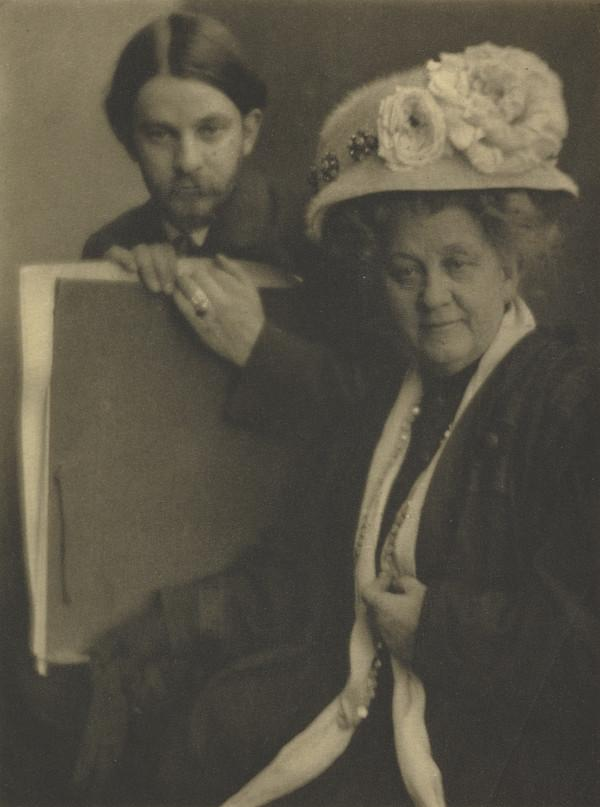 Alvin Landon Coburn and his Mother
