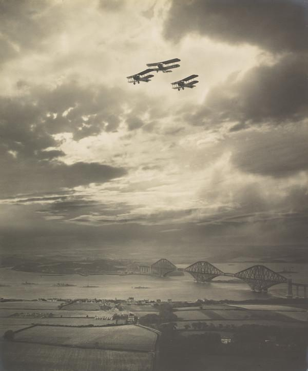 The Forth Bridge (About 1920)