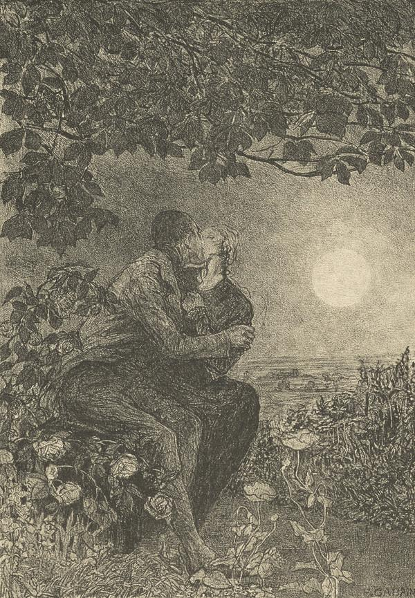 Rochester Proposing to Jane (illustration for 'Jane Eyre') (1922 (published 1924))
