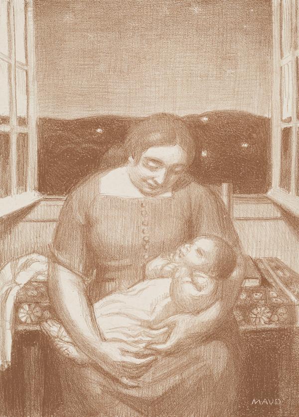 Maternité à la fenêtre ouverte [Maternity and Open Window]