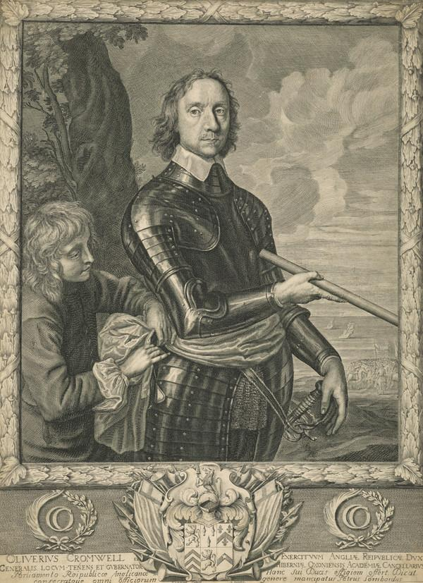 Oliver Cromwell, 1599 - 1658. Lord Protector