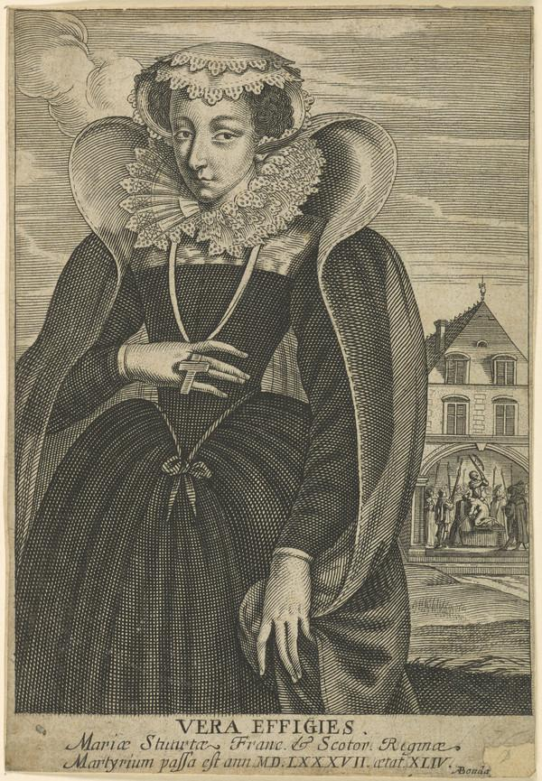 Mary, Queen of Scots, 1542 - 1587. Reigned 1542 - 1567 (Dated 1671)