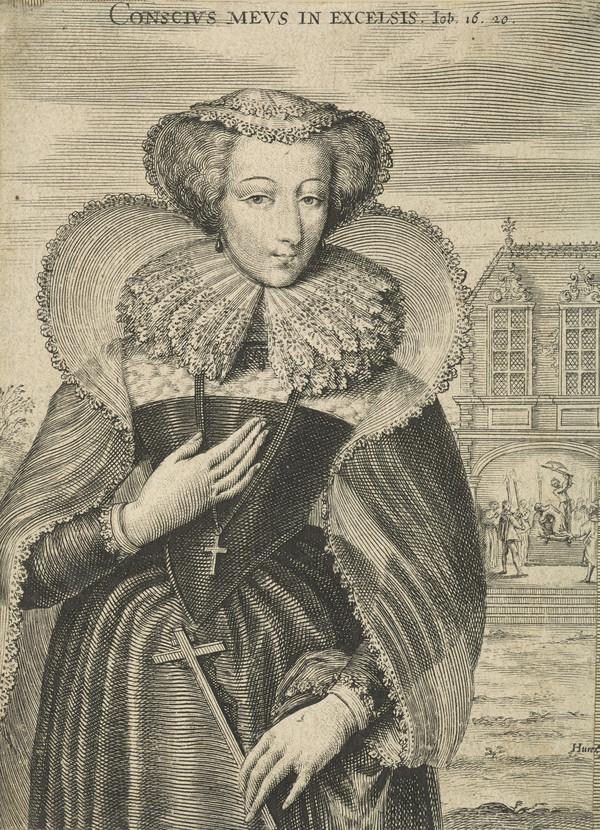 Mary, Queen of Scots, 1542 - 1587. Reigned 1542 - 1567 (Possibly mid-17th century)