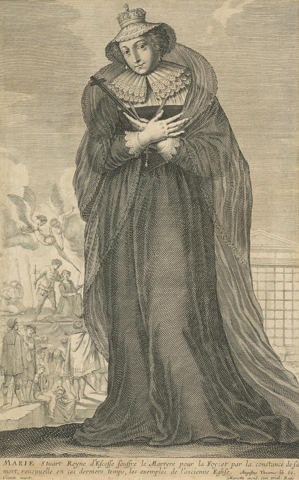 Mary, Queen of Scots, 1542 - 1587. Reigned 1542 - 1567 (Possibly late 17th - early 18th century)