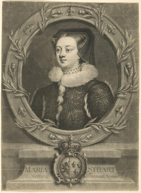 Mary, Queen of Scots, 1542 - 1587. Reigned 1542 - 1567 (About 1715-1720)