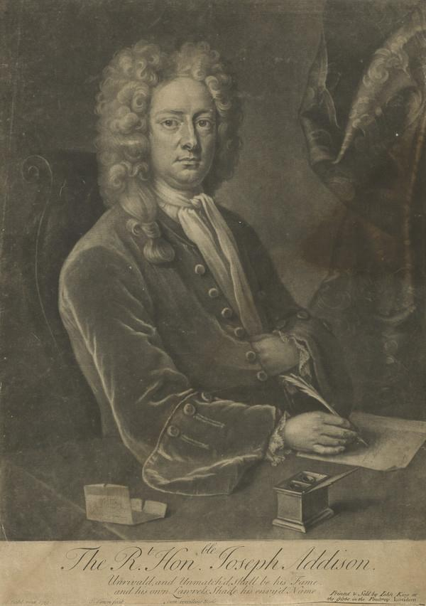 Joseph Addison, 1672 - 1719. Author and statesman