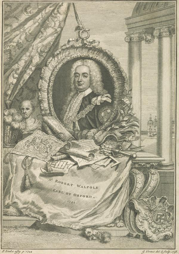 Sir Robert Walpole, 1st Earl of Orford, 1676 - 1745. Prime Minister