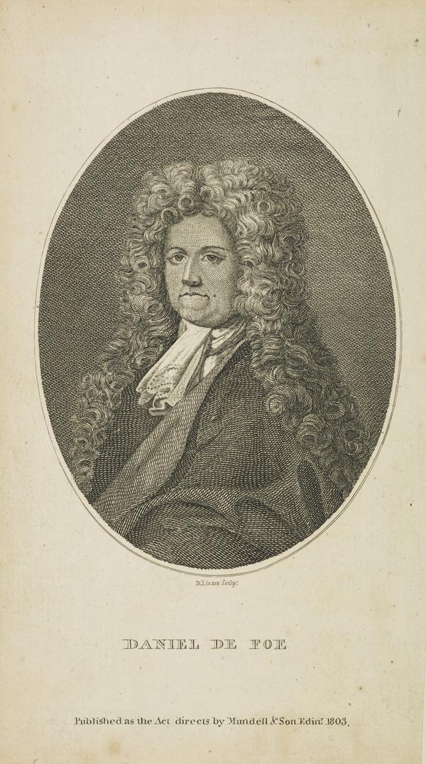 Daniel Defoe, c 1661 - 1731. Political writer and novelist