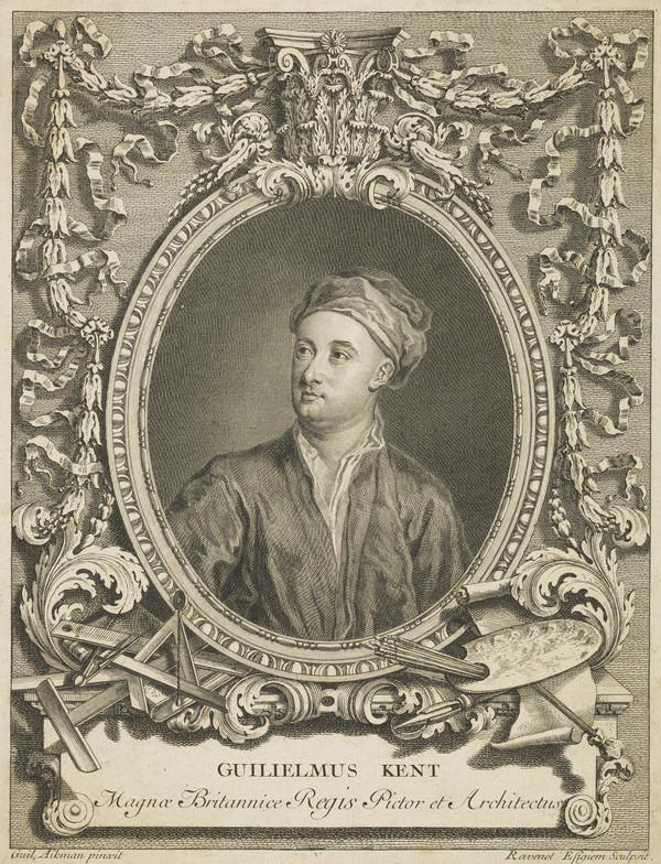 William Kent, 1684 - 1748. Architect and painter