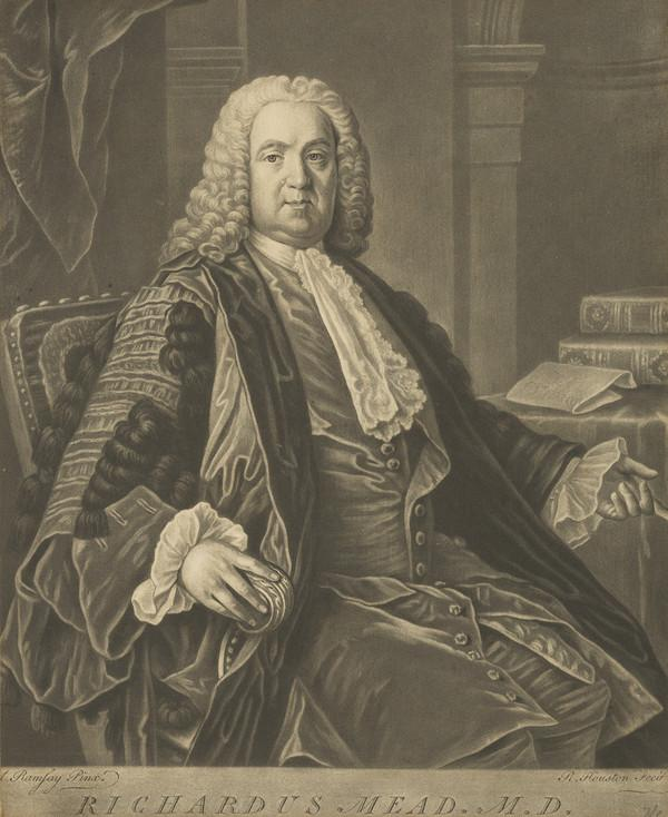 Richard Mead, 1673 - 1754. Physician