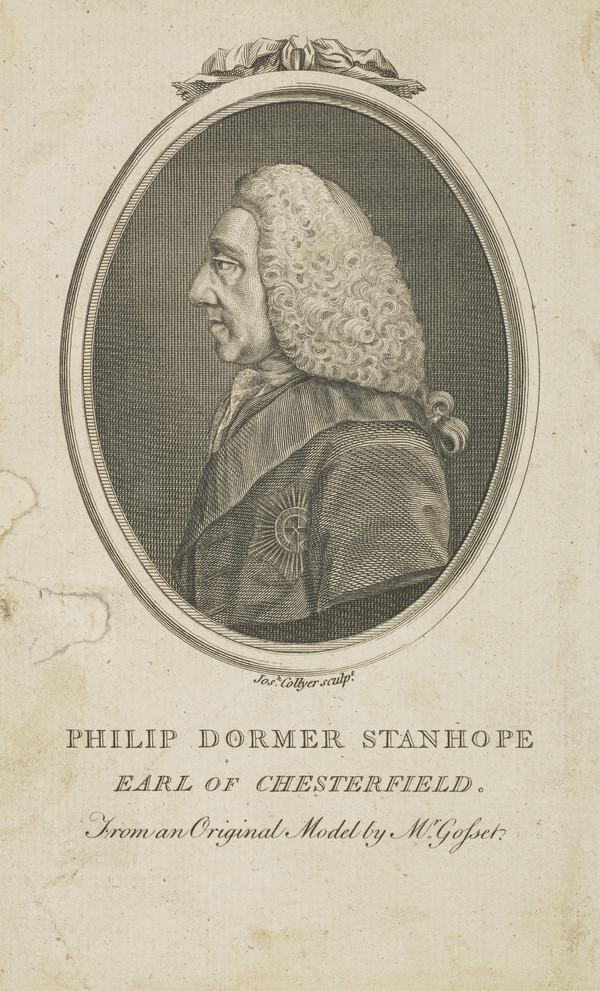 Philip Dormer Stanhope, 4th Earl of Chesterfield, 1694 - 1773. Statesman and letter-writer