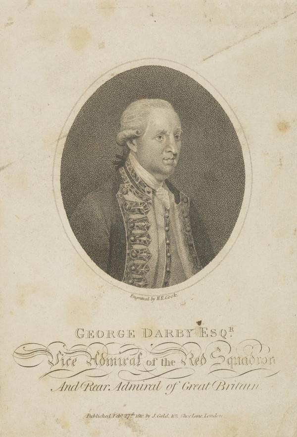 George Darby, d. 1790. Admiral