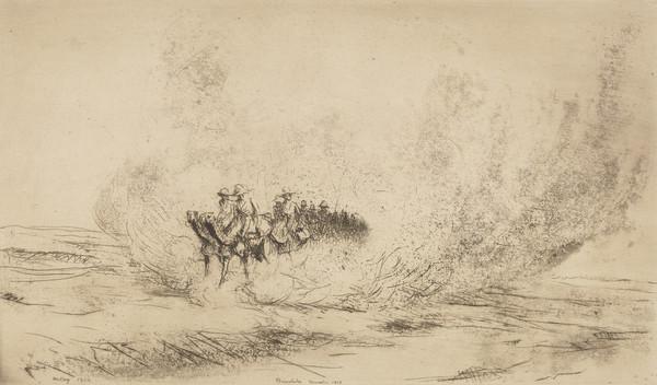 Dust, Beersheba, November 1917 [MH 193]