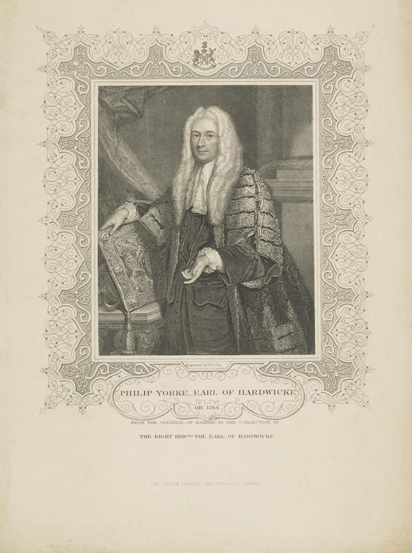 Philip Yorke, 1st Earl of Hardwicke, 1690 - 1764. Lord Chancellor