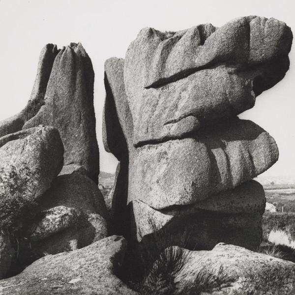 Rocks at Ploumenach, Brittany (1936 (printed later))