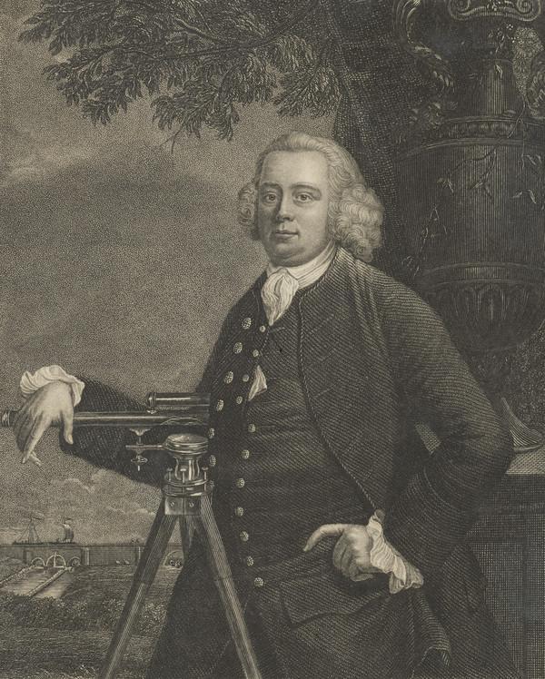 James Brindley, 1716 - 1772. Civil engineer; canal-maker