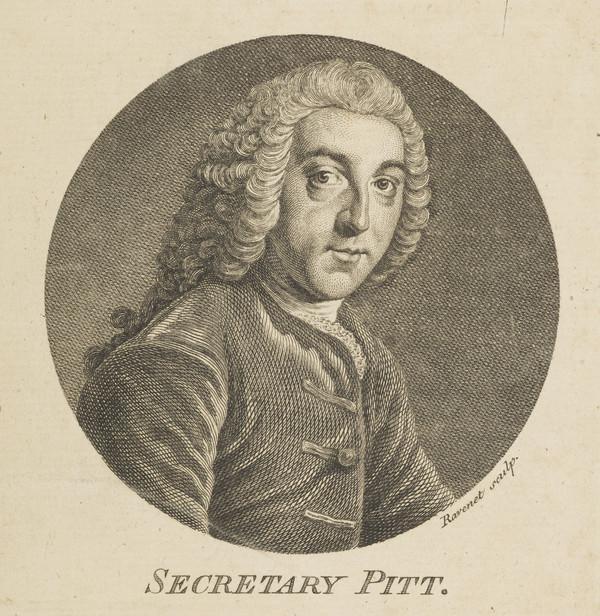 William Pitt, 1st Earl of Chatham, 1708 - 1778. Statesman