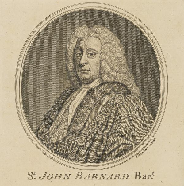Sir John Barnard, 1685 - 1764. Alderman and Lord Mayor of London (Published 1757)