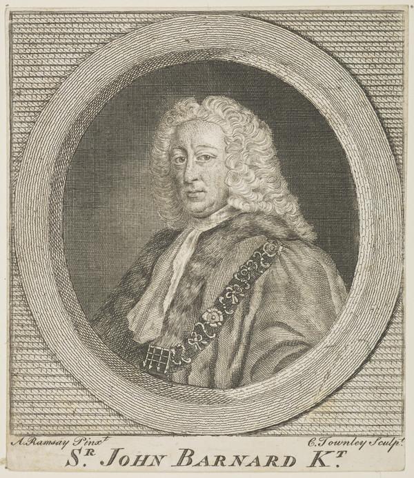 Sir John Barnard, 1685 - 1764. Alderman and Lord Mayor of London